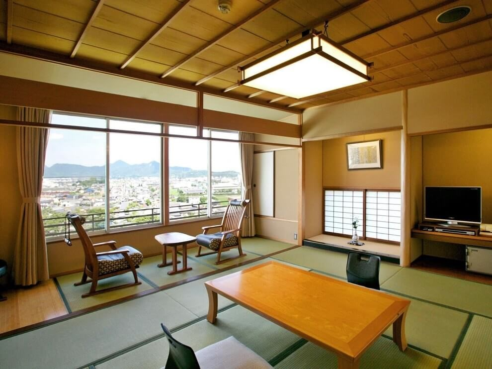Пример дизайн проекта гостиной комнаты в японском стиле Черновцы