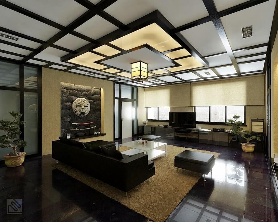 Пример дизайн проекта квартиры-студии в японском стиле Черновцы 2