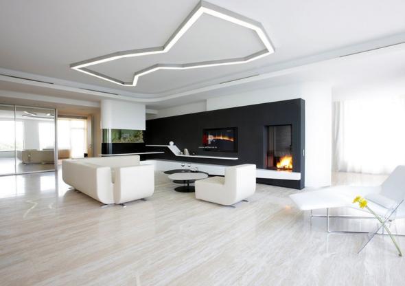 Пример дизайн интерьера кухни в стиле минимализм Черновцы