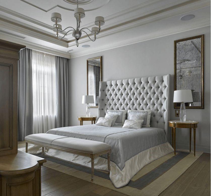Пример интерьера спальни в классическом стиле Черновцы